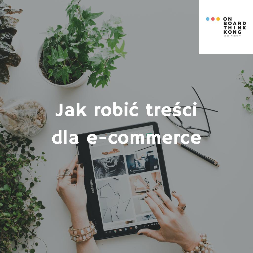 content marketing a e-commerce