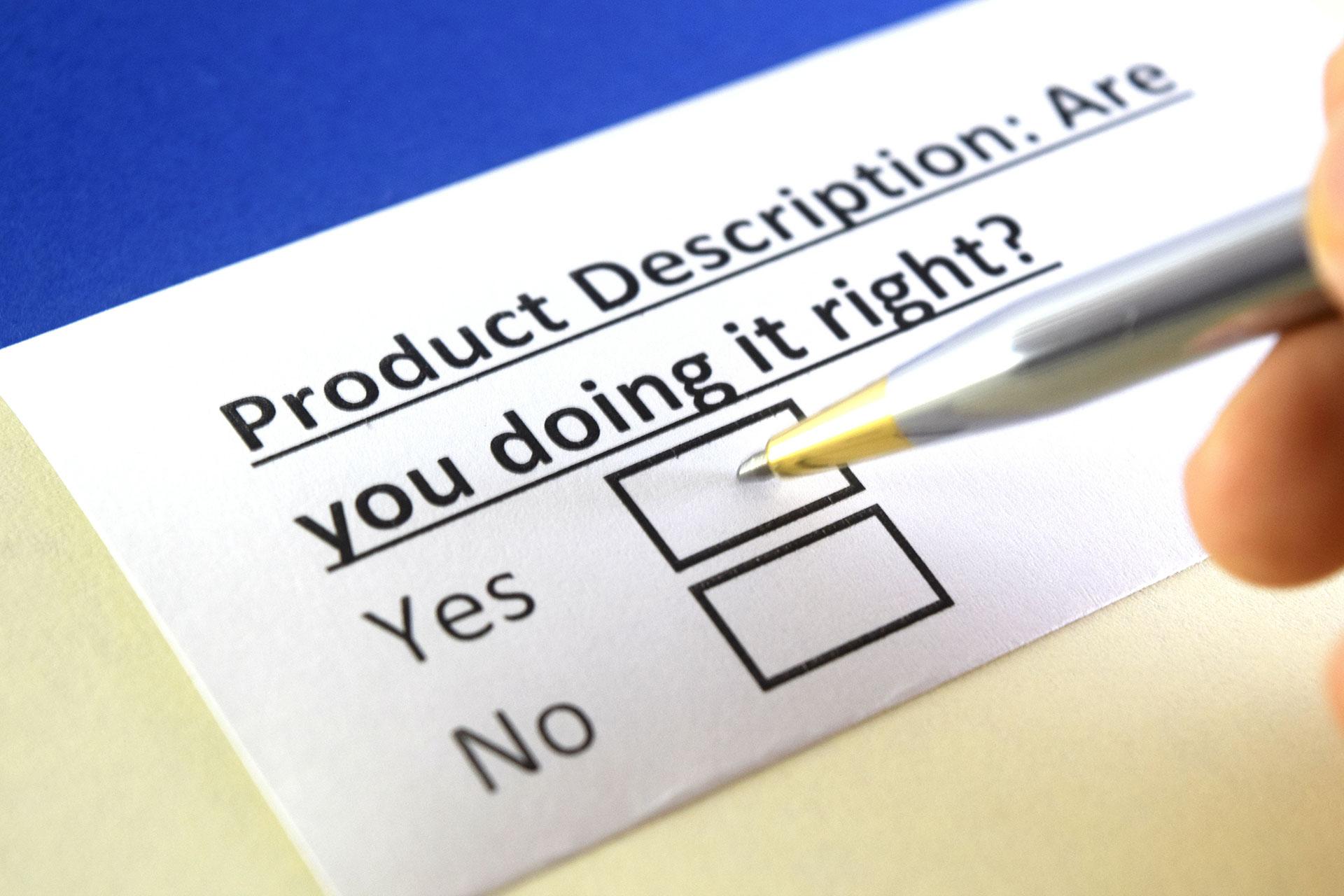 Opisy produktów, które naprawdę sprzedają w internecie – jak je napisać? 4 wskazówki