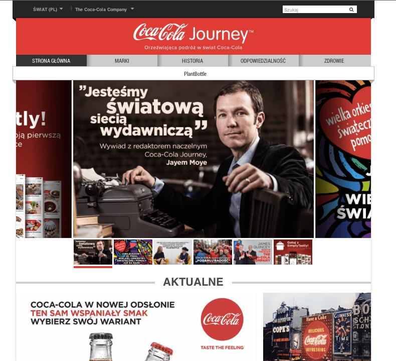 coca cola przedłuża współprace